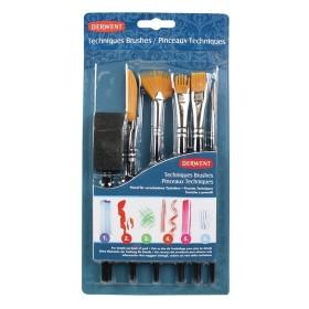 Derwent Teknik Fırçaları 6 Adet Set
