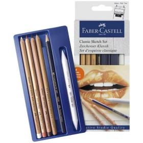 Faber Castell Klasik Sketch Seti