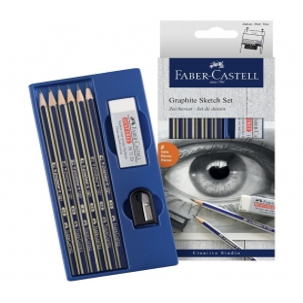 Faber Castell Goldfaber Dereceli Kalem Çizim Seti