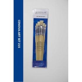 Cenova-Art Karma 6'li Kı Fırça Seti SET-215