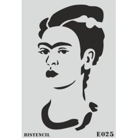 biStencil Frida Şablon 25x35cm E-025