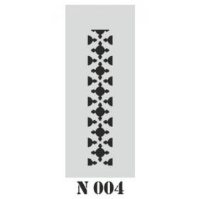 biStencil Şablon 10x25cm N-004