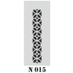 biStencil Şablon 10x25cm N-015