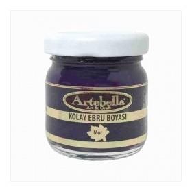 Artebella 3606 MOR Kolay Ebru Boyası 40 cc