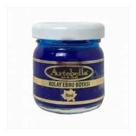 Artebella 3607 MAVİ Kolay Ebru Boyası 40cc