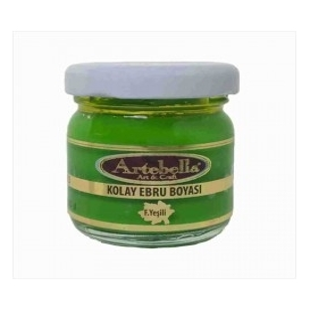 Artebella 3613 Fıstık Yeşili Kolay Ebru Boyası 40 cc