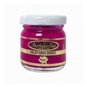 Artebella 3615 Fuşya Kolay Ebru Boyası 40 cc