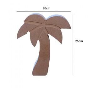 Ayakta Durabilen Palmiye Ahşap Obje 25cm