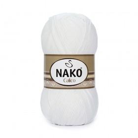 Nako Calico Amigurumi İpi 100gr BEYAZ