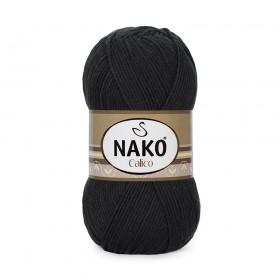 Nako Calico Amigurumi İpi 100gr SİYAH