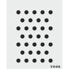 biStencil Şablon 14x18cm Y-006