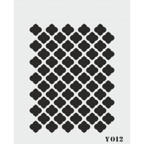 biStencil Şablon 14x18cm Y-012