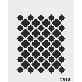 biStencil Şablon 14x18cm Y-013