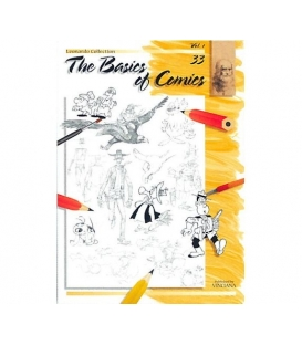 Leonardo Collection Desen Kitabı 33 The Basics Of Comics
