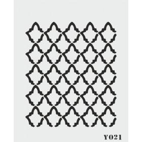 biStencil Şablon 14x18cm Y-021