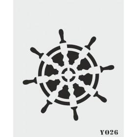 biStencil Şablon Dümen 14x18cm Y-026