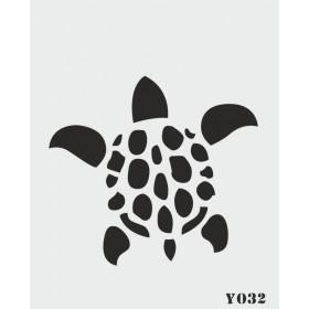 biStencil Şablon Kaplumbağa 14x18cm Y-032
