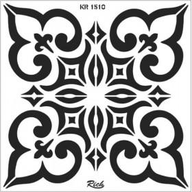Rich Fayans Modeli Stencil 30x30cm 1510