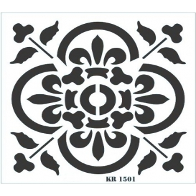 Rich Fayans Modeli Stencil 30x30cm 1501