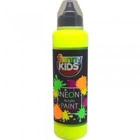 Funny Kids Neon Akrilik Boya 500cc - 4800 SARI