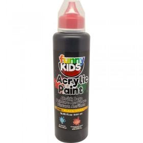 Funny Kids Akrilik Boya 500cc - 2708 SİYAH