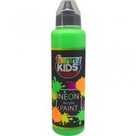 Funny Kids Neon Akrilik Boya 500cc - 4804 YEŞİL