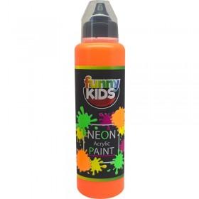 Funny Kids Neon Akrilik Boya 500cc - 4806 TURUNCU