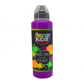 Funny Kids Neon Akrilik Boya 500cc - 4808 MOR