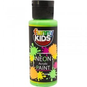 Funny Kids Neon Akrilik Boya 70cc - 4804 YEŞİL