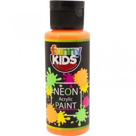 Funny Kids Neon Akrilik Boya 70cc - 4806 TURUNCU