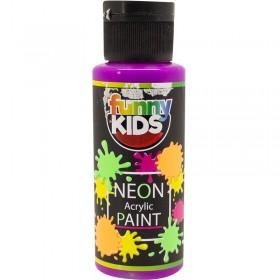 Funny Kids Neon Akrilik Boya 70cc - 4808 MOR