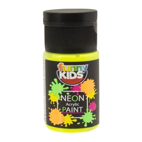 Funny Kids Neon Akrilik Boya 20cc - 4800 SARI