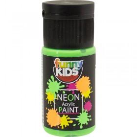 Funny Kids Neon Akrilik Boya 20cc - 4804 YEŞİL