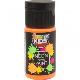 Funny Kids Neon Akrilik Boya 20cc - 4806 TURUNCU