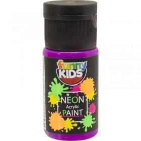 Funny Kids Neon Akrilik Boya 20cc - 4808 MOR
