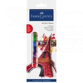 Faber Castell Akrilik Boya 12x12 ml Tüp Set