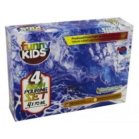 Funny Kids Pouring Boya Seti 4 Renk x 70ml