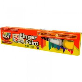 Funny Kids Parmak Boyası Seti 6 Renk x 15ml