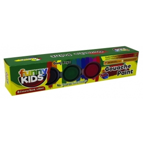 Funny Kids Guaj Boya Seti 6 Renk x 25ml