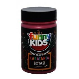 Funny Kids Kara tahta Boyası BORDO 100cc