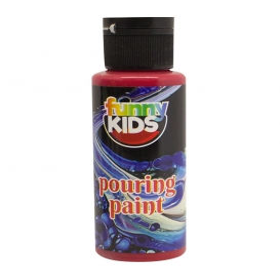 Funny Kids Pouring Boya 70cc KIRMIZI - 4904
