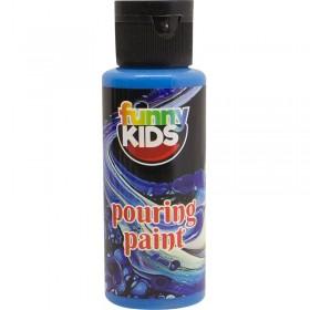 Funny Kids Pouring Boya 70cc MAVİ - 4906
