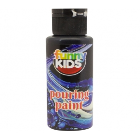 Funny Kids Pouring Boya 70cc SİYAH - 4908