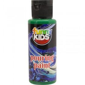Funny Kids Pouring Boya 70cc YEŞİL - 4910