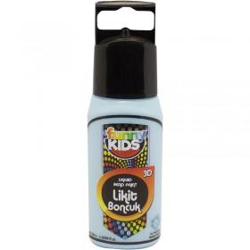 Funny Kids 3D Likit Boncuk Boya 60cc  BEBEK MAVİ - 2516