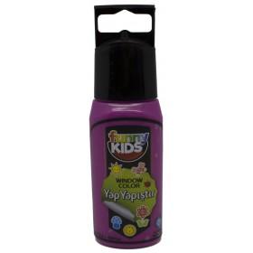 Funny Kids Yap Yapıştır 60cc  FUŞYA - 7506