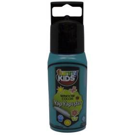Funny Kids Yap Yapıştır 60cc  TURKUAZ - 7508