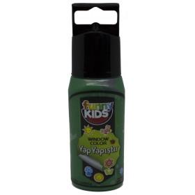 Funny Kids Yap Yapıştır 60cc  YEŞİL - 7520