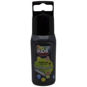 Funny Kids Yap Yapıştır 60cc  SİYAH - 7522