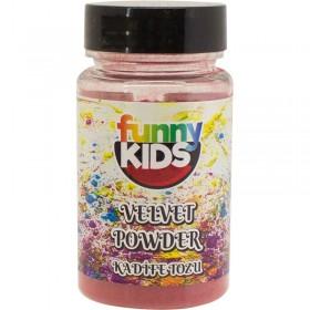 Funny Kids  Kadife Tozu 90cc  KIRMIZI